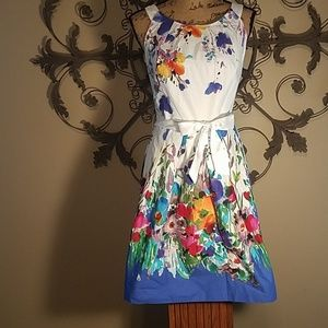 Dress Barn flowery fresh dress